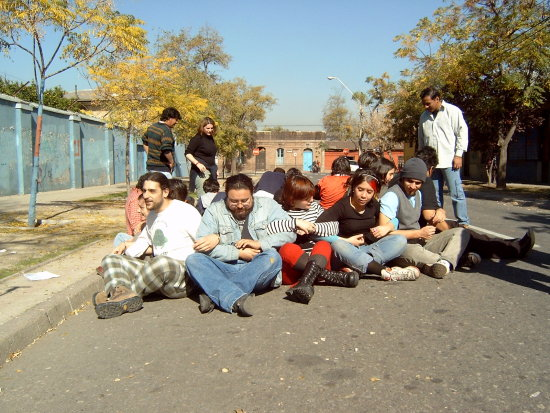 Nonviolent Direct Action Training in Santiago, Chile