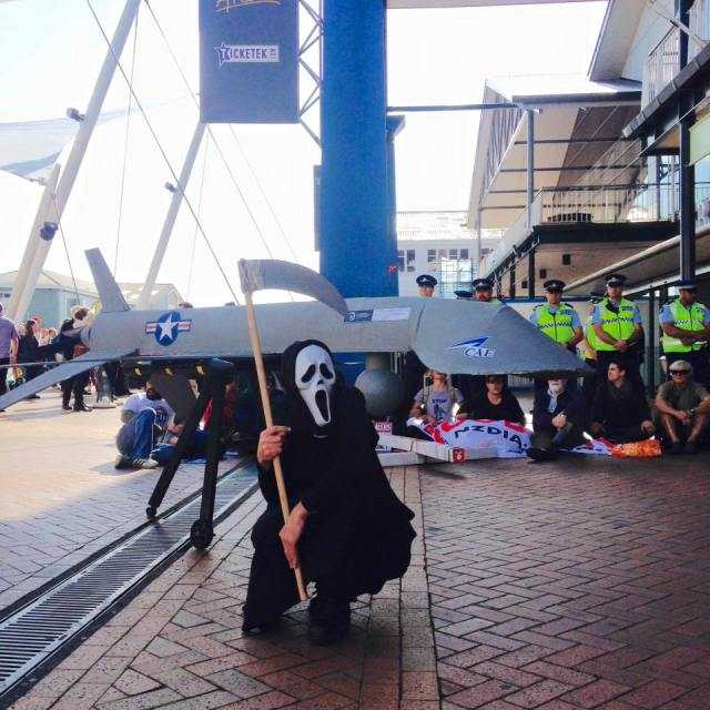 Peace Action Wellington: activists take direct action at the weapons conference