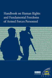Handbook Human Rights in the Armed Forces