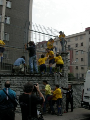 Action at Military Barrack in Bilbao, Basque Country