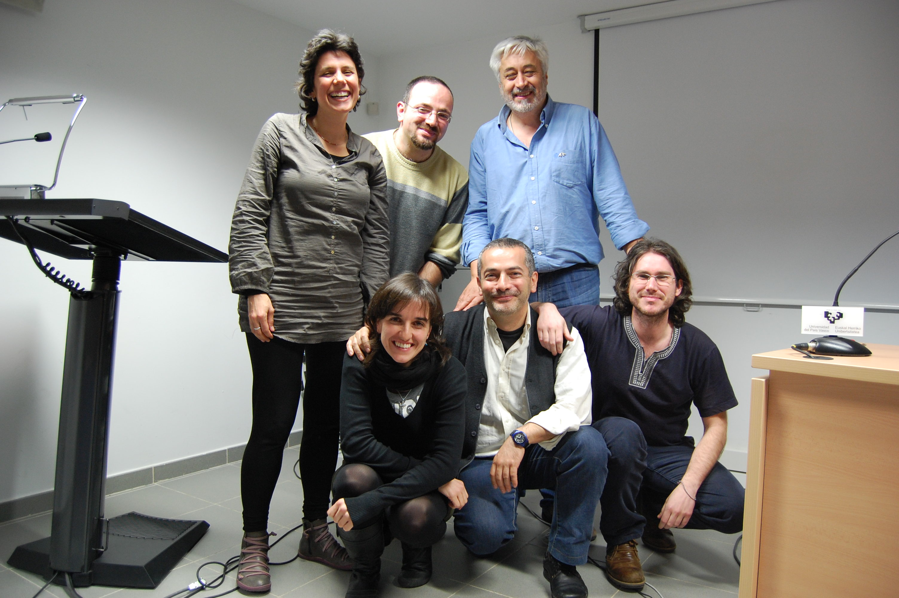 Seminaron Palestine at HEGOA, Institute of Development Studies and International Cooperation, at the University of the Basque Country in Bilbao