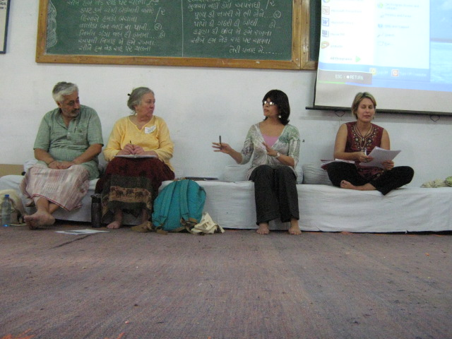 2010 Ahmedabad Triennial with Joanne Sheehan, Vanessa Ortiz and Cynthia Boaz