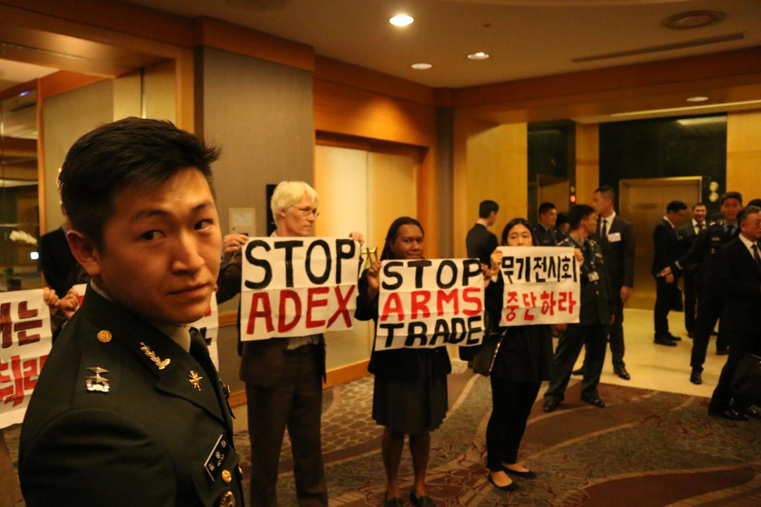 Inside the arms dealers' welcome dinner