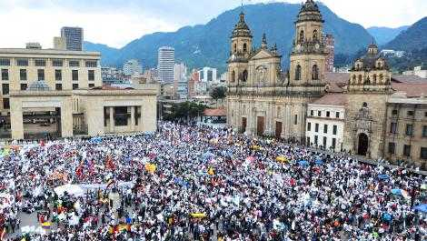 Demonstration for Peace in Colombia