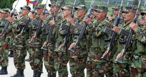 Army Forces in Colombia