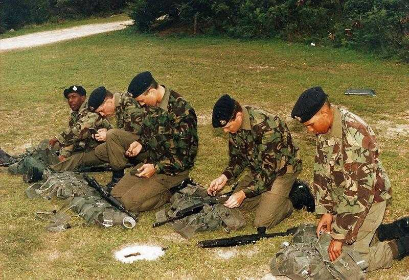 Bermuda military training - 1993