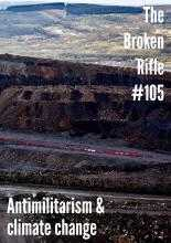 Cover of 'Antimilitarism and climate change' edition