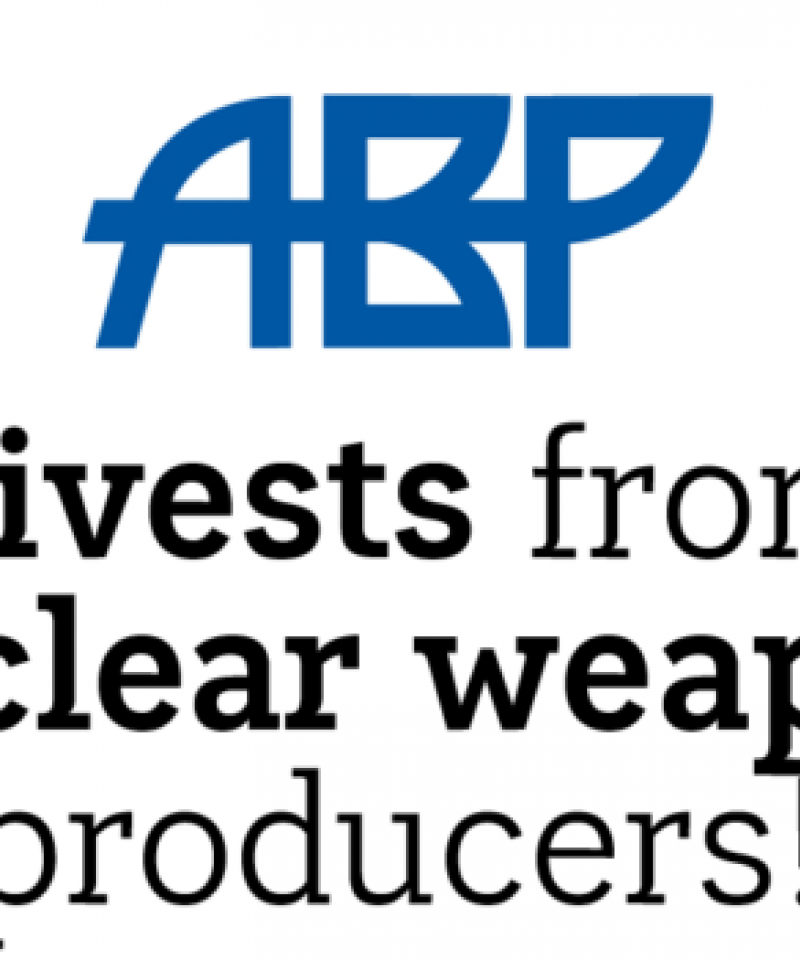 ABP has divested from nuclear weapons