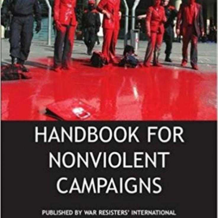Handbook for Nonviolent Campaigns, first edition - cover page
